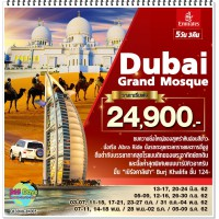 Dubai Grand Mosque 5D