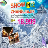 SNOW IN ZHANGJIAJIE 5D4N