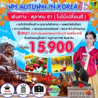 MY AUTUMN IN KOREA 5D3N