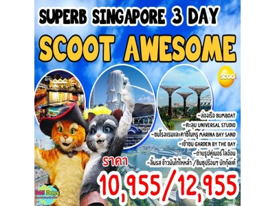 SINGAPORE SCOOT AWESOME 3D