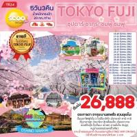 TOKYO FUJI ซากุระชมพู้ ชมพู 5 วัน 3 คืน