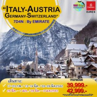 ITALY AUSTRIA GERMANY SWITZERLAND (EK)